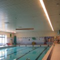 Gespannen plafond Zwembad de Dukdalf