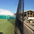 Luchthal voor 2 zaalhockeyvelden bij MHCZoetermeer
